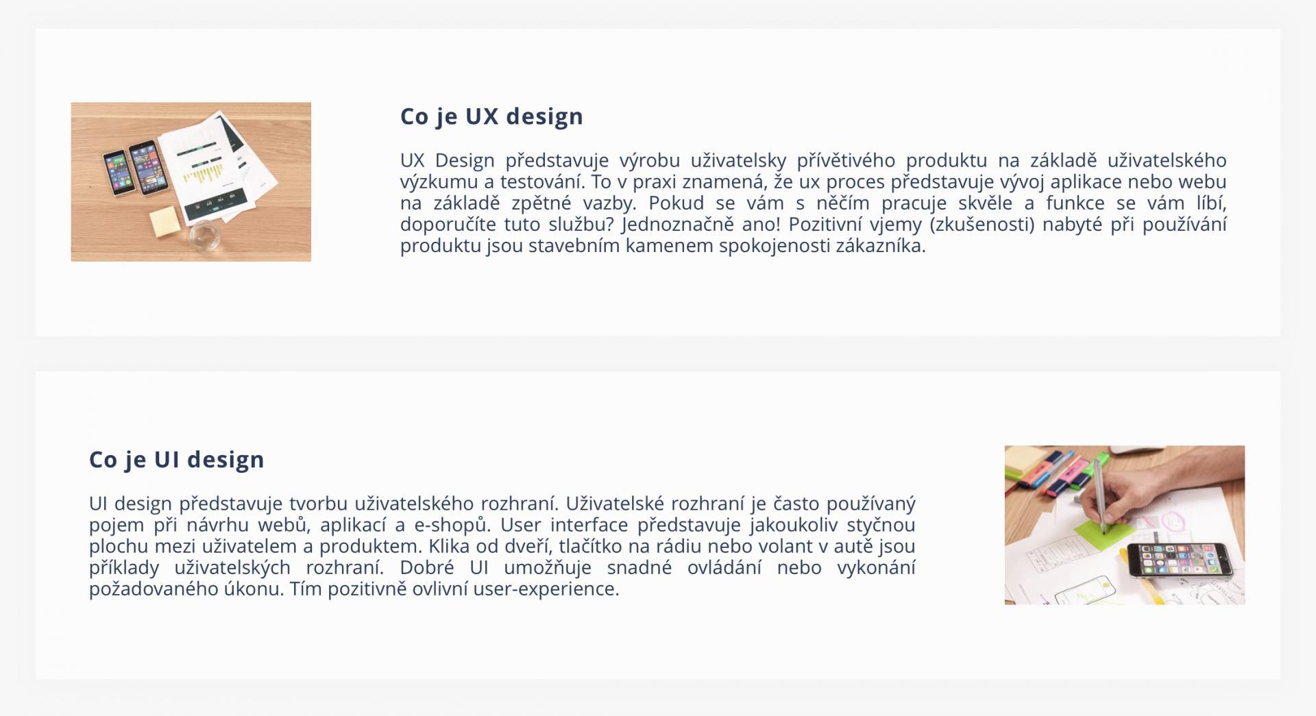 Obsahové boxy na webu 7divs